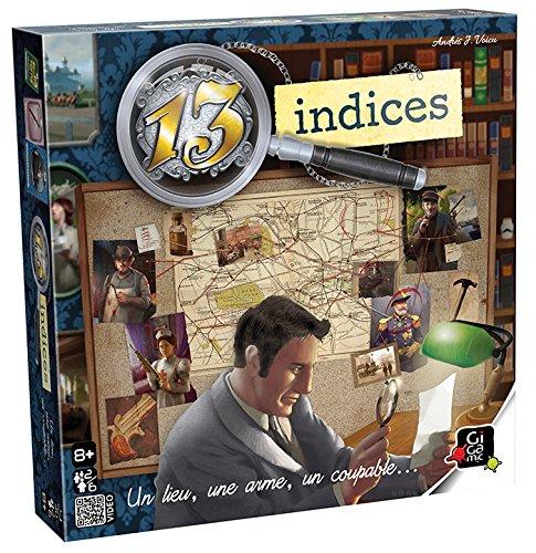 13 indices : Un lieu, une arme, un coupable ... / Andrés J. Voicu |