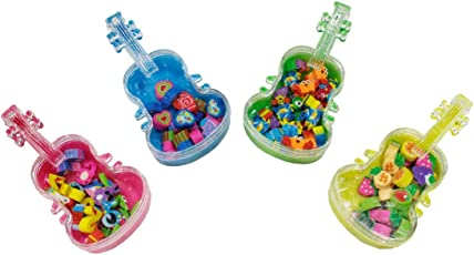 Toys Factory New Latest Design Guitar Eraser Box School Supplies for School Going Kids Or Birthday Return Gift.