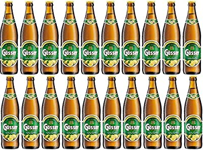 Gösser Natur Radler 20 Flaschen a 0,5L in der Original Bierkiste
