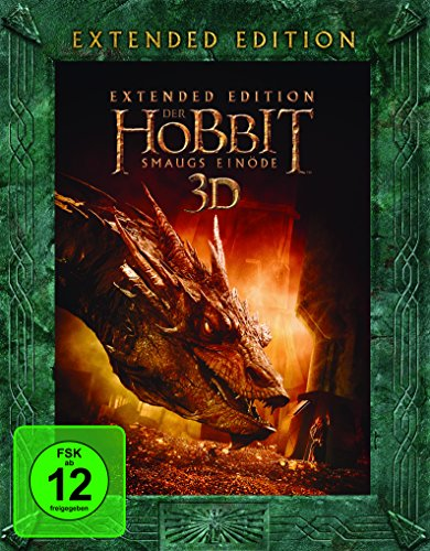 Der Hobbit: Smaugs Einöde Extended Edition (Blu-ray + Blu-ray 3D)