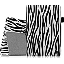 Fintie ekk0035de 7Handy Bookstyle schwarz, weiß Tasche für Tablet