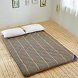 Cómodo respirable TATAMI colchón del dormitorio/ planta cojín el dormir/ colchón plegable-E 120x190cm(47x75inch)