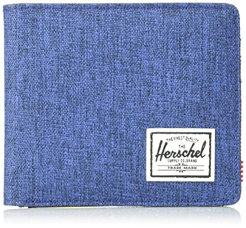 Preisvergleich Produktbild Herschel Roy Plus Coin XL RFID Wallet Eclipse Crosshatch / Black
