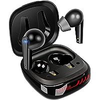 Bakibo Kopfhörer Kabellos, Bluetooth 5.1 Wireless Kopfhörer in Ear mit Mikrofon Stereo Sound Ipx7 Ohrhöre mit tragbar…