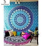 Indische Hippie Elefant Bohemian Wandteppiche indischen Wandteppiche Home Dekorative Tagesdecke Wand Decor Decke Baumwolle Quilt Bettunterlagen Wirft Decken Tischdecke Mandala Wand Gobelin Schlafzimmer Decor