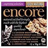 Encore Mixed Tinned Cat Food 12 X70g