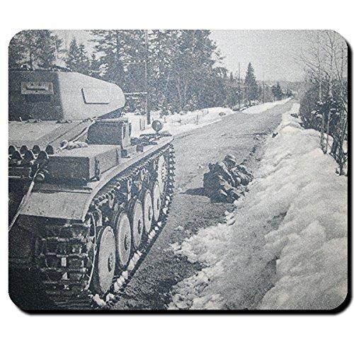 Panzerkampfwagen II Panzer 2 Sd.Kfz. 121 Norwegen Winter - Mauspad PC #10839 Norwegen-pc