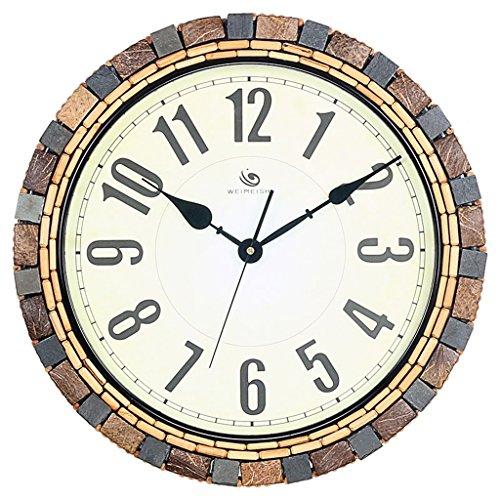 Plum Open Wanduhr, offen, batteriebetrieben, kreative Persönlichkeit, Wohnzimmer, 45,7 cm, dekorative Wanduhr, amerikanische Atmosphäre, einfache Glas-Uhren