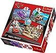Trefl - 57967 - Puzzle Classique 4 En 1 - 35-48-54-70 Pi�ces - Cars