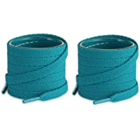 Lify 2 Pair Super Quality 19 Colors Flat Shoe laces 5/16 Wide Shoelaces for Athletic Running Sneakers Shoes Boot Strings