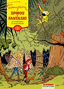 "Afficher ""Spirou et Fantasio intégrales Dupuis n° 2 De Champignac au Marsupilami"""
