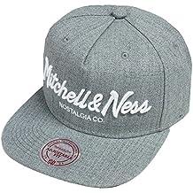Mitchell   Ness Ownbrand Heather Grey EU336 Pinscript Snapback Cap Kappe  Basecap a9af3cb5085