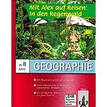 Mit Alex reisen: In den Regenwald, 1 CD-ROM Den Regenwald spielerisch entdecken. Für Windows 3.1 oder MacOS ab System 7.0. Viele Informationen zu Pflanzen, Tieren, Landschaften und Menschen