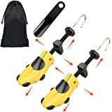 Halcent Pair of Two-Way Shoe Stretcher Kit Plastic & Metal Shoe Stretchers Expander Shoe Tree with Shoe Horn for Men and…