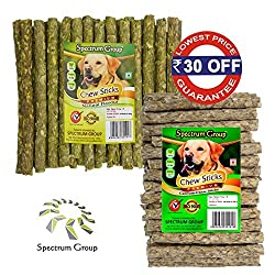 Spectrum Group An ISO 9001:2015 & HACCP Accredited Company - Money Saver Combo Pack Natural + Calcium Munchies 450 g / 40 sticks (2 Packs)