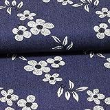 Blusen-Jeans mit aufgedruckten Blumen
