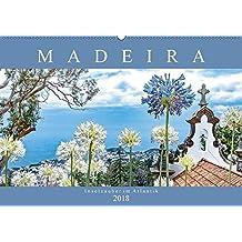 Madeira - Inselzauber im Atlantik (Wandkalender 2018 DIN A2 quer): Impressionen der Vulkaninsel im atlantischen Ozean. (Monatskalender, 14 Seiten ) (CALVENDO Orte)