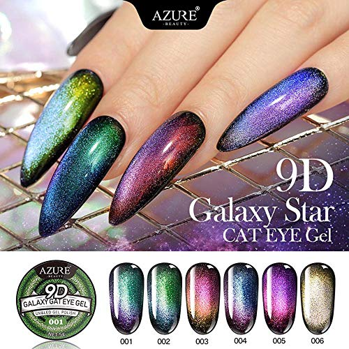 Turbobm 9D Galaxy Star Cat Eye Gel Esmalte uñas