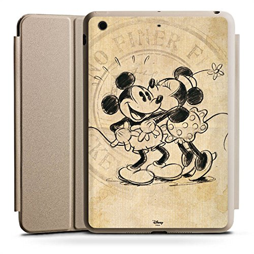 Apple iPad Mini 2 Smart Case Hülle Tasche mit Ständer Smart Cover Disney Minnie & Mickey Mouse Geschenke Merchandise (Ipad Disney Cover)