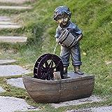 """Köhko Springbrunnen """"Freiberg"""" Gartenbrunnen Brunnen für Außen und Innen"""