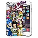 MIM Global Dragon Ball Z Super GT Etuis Coque Case Cover Compatible pour Tous iPhone (iPhone 6/6s, T.O.P)