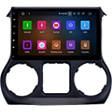 Android 9 4GB+32GB 10.1 Inch Touchscreen for Jeep Wrangler JK
