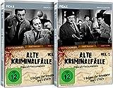 Alte Kriminalfälle - Gesamtedition / Die komplette 12-teilige Krimiserie auf 4 DVDs (Pidax Serien-Klassiker)