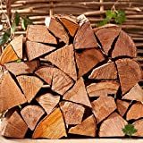 Hardwood Firewood Chunky Logs -Kiln Dried - Large Heavy 40 Litre, 25cm Long, Perfect for Open Fire Stoves, Log Burner, Fire Pit, Pizza Ovens Fast Delivery