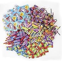 Chupa Chups Süßigkeiten Party-Mix, 200 Stück 1930 g, nur Markenware, Klassiker + Spezial-Artikel: Lutscher, Kau-Bonbons,...