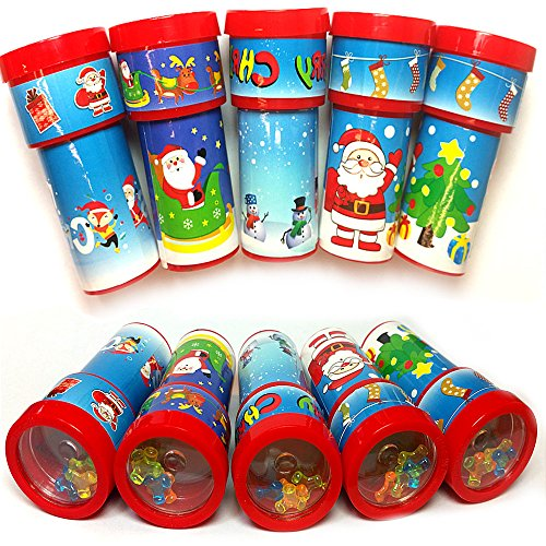 German Trendseller® - 6 x Weihnachts Kaleidoskop ┃ Weihnachten ┃ Mitgebsel ┃ Kinder ┃ 6 (Figur Bilderbuch Kostüme Uk)