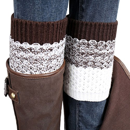 vovotrader-jacquard-knitted-leg-warmers-socks-boot-cover-brown