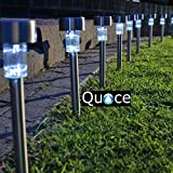 Quace Solar LED Light Set (Silver, 10-Pieces, Metal)
