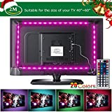 Tiras LED de Luz TV SMD 5050 RGB 20 Modo de Color IP65 Impermeable USB para Decoración del Hogar Laluztop-F1