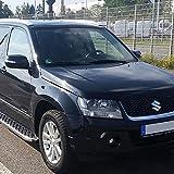 Trittbretter für Suzuki Grand Vitara ab Bj 05 auch Facelift ab Bj 12 mit TÜV/ABE Bescheinigung (aus Aluminium) | Sidestep Seitenschweller Trittleisten