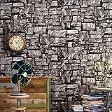 huangyahui simple, Retro, nostalgique du marbre, pierre Bar, bar, caffetterie, industrielle Vent la Papier peint, simulation 3d en brique, brique Papier peint Black brick