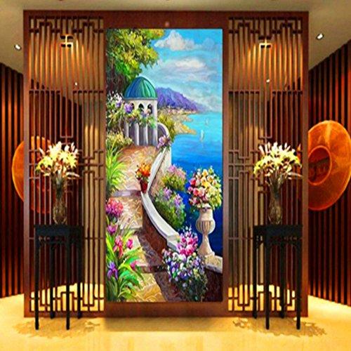 DIY 5D Landscape Diamond Painting Cross-Stitch for Entrance Living Room Bedroom - 3