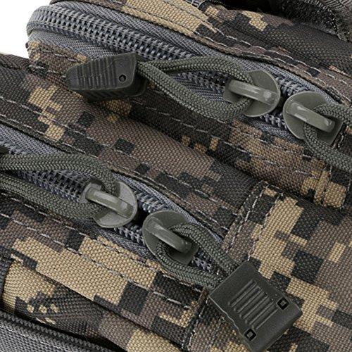 etach Wasserdicht Taille Pack Handytasche Utility Gürtel Taille Gadget Tasche für Sport Outdoor Wandern Camping Camouflage1