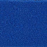 Teppichboden Auslegware Meterware Velour uni blau 400 cm und 500 cm breit, verschiedene Längen, Variante: 3 x 4 m