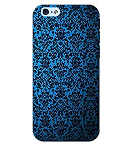 PrintDhaba BLUE PATTERN D-6327 Back Case Cover for APPLE IPHONE 6S PLUS (Multi-Coloured)