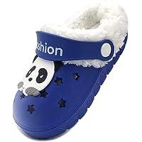 Vorgelen Bambini Invernali Zoccoli e Sabot Ragazzi Morbide Pelliccia Pantofole Ragazze Caldo Casa Ciabatte Antiscivolo…