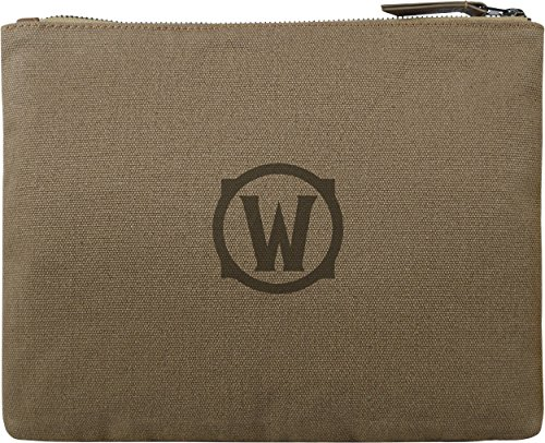 Musterbrand-World-of-Warcraft-Federtasche-Secrecy-Make-Up-Tasche-Braun-One-size