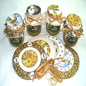 simonthebeekeeper papier emballage pot de miel apiculture x 40 fr animalerie