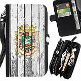 Best Rico portefeuille en cuir - FJCases Puerto Rico Sceau Territories Style bois Coque Review