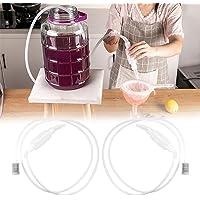 RMENOOR Lot de 2 tubes de siphon en plastique pour vin et bière - 1,97 m