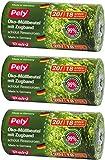 3 Rollen Pely Öko-Müllbeutel mit Zugband, 20 Liter, 18 Stück