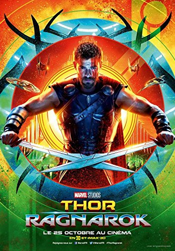 Import Posters Thor Ragnarok – Thor – French Movie Wall Poster Print – 30CM X 43CM