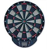 Equinox Bersaglio Elettronico Per Freccette Vega Incluse 6 Freccette Bianco-Nero
