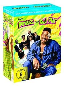 Der Prinz von Bel-Air – Die komplette Serie (Staffel 1-6) (exklusiv bei Amazon.de) [Limited Edition] [23 DVDs]