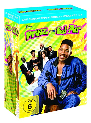 Der Prinz von Bel-Air - Die komplette Serie (Staffel 1-6) (exklusiv bei Amazon.de) [Limited Edition] [23 DVDs]