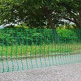 DEMA Schutznetz/Bauzaun 30x1 Meter grün